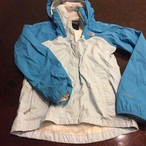 North Face lined rain jacket!